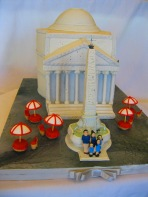 Pantheon Fondant Cake
