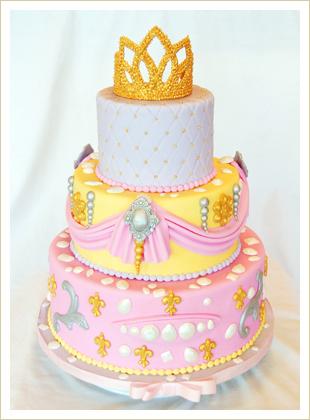 Princess Royalty Cake
